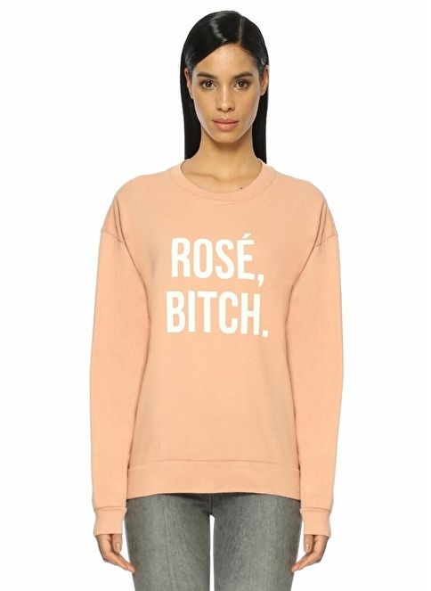 Private Party Sweatshirt Pembe